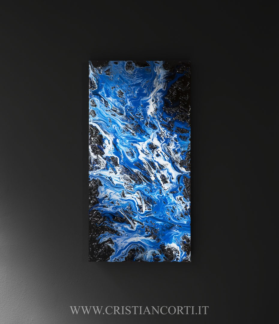 Quadri astratti design resin art by cristian corti for Quadri design