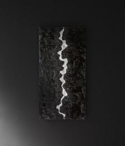 quadri moderni foglia argento