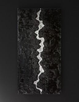quadri foglia argento