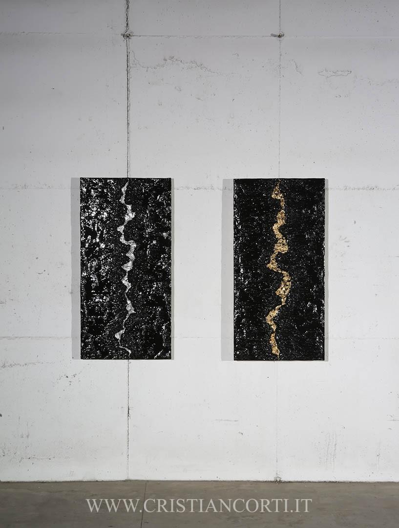 Quadri moderni e bassorilievi di design materici in rilievo by ...