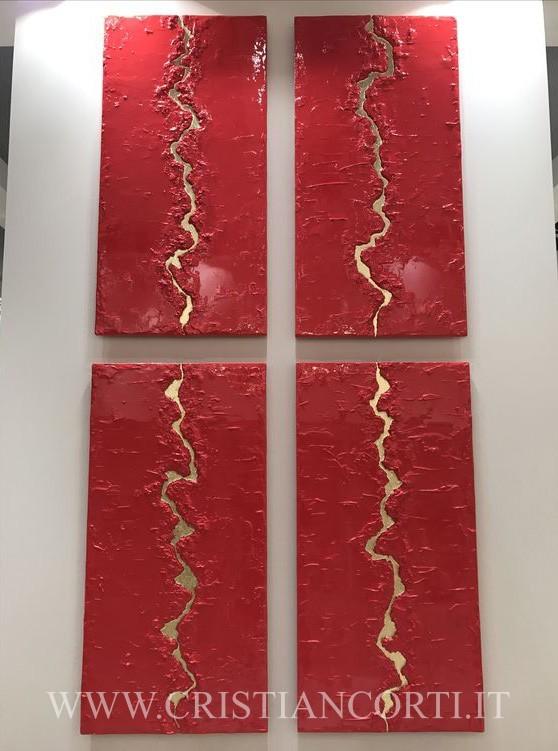 Quadri moderni in rilievo e di design by cristian corti for Quadri a rilievo moderni