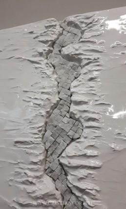 quadri moderni marmo Carrara
